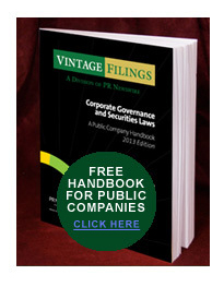 Click the image to request our free Corporate Governance Handbook.