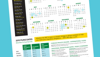 2016 sec filing calendar dont miss a deadline or holiday 2015 sec filing calendar dont miss a deadline or holiday closing sciox Images
